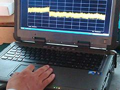 全加固笔记本电脑C159用于电磁辐射检测系统