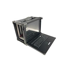 17寸加固工业便携机VPX1700_PCIE加固便携机机箱一体