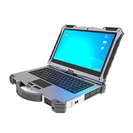 13.3寸龙芯处理器加固笔记本电脑_Linux系统三防军用笔记本电脑